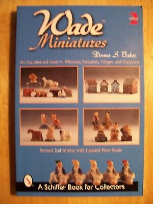 Wade Miniatures Price Guide Collector Book Premiums Whimsies Villages Characters
