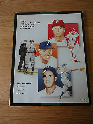 1994 National Baseball Hall of Fame and Museum Yearbook