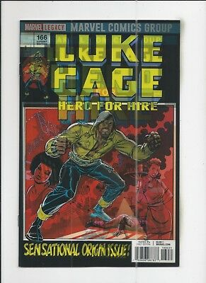 Luke Cage #166 Lenticular Variant Cover near mint (NM) condition