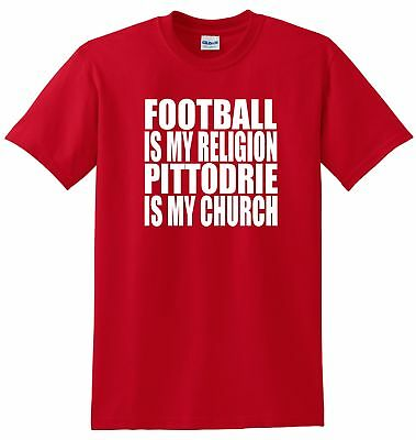 Aberdeen Fans Themed Football Is My Religion Style T-Shirt All Sizes