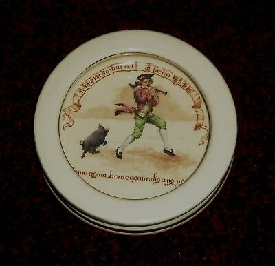 Rare  Royal Doulton Nursery Rhyme Series Cereal Bowl TO MARKET BUY A PIG  C1910