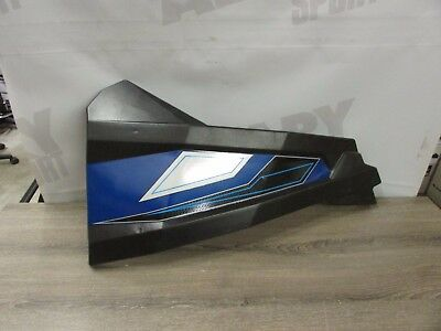 Polaris RZR XP 1000  570, 900 14 to 18 Left Door Skin Panels blue/silver