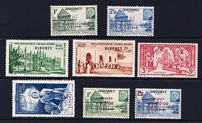 Dahomey 1940's MNH selection of various issues   - (584)
