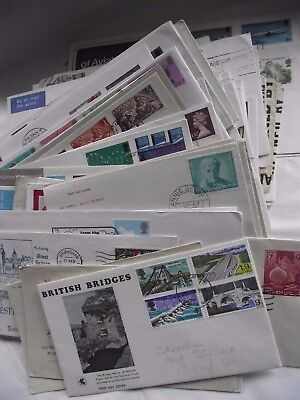 100+ First day Covers & Covers  - Various & Mixed (LOT H)