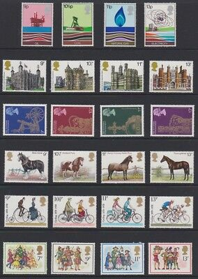 GB EII 1978 Commemorative complete MINT YEAR SET sg1050-1074 + MS1058 MNH