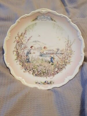 Superb Royal Albert Wind In The Willows 'portly's Return' Collectors Plate