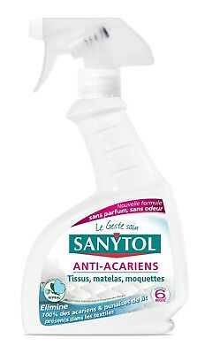 MBM® Sanytol - Désinfectant Anti-Acariens - 300 ml - Lot de 4