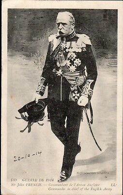 Cpa France 1914 - Sir John French, Commandant De L'armee Anglaise -