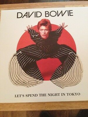 David Bowie - Rare Limited Edition Double Vinyl Lp - Lets Spend The Night In Tok