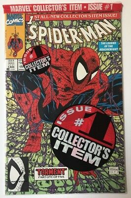 Spider-Man 1 Collectors Issue ~Torment~ Black Knight  NM+ 1991 Marvel Sealed