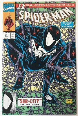 Spider-Man 13 Collectors Issue ~Sub-City~ Black Knight  NM+ 1991 Marvel Lot#4
