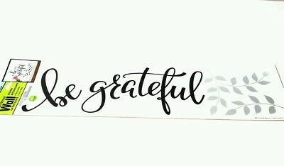 Main Street Wall Creations Stickers Be Grateful 16.
