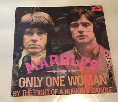 """7"""" - The Marbles - Only One Woman - 1968"""