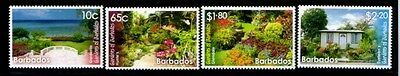 BARBADOS Gardens MNH set