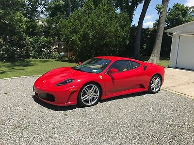 2005 Ferrari 430 Manual 6-speed **GATED MANUAL** 430 coupe **PRISTINE** example F430 red/tan ** 360 458 488