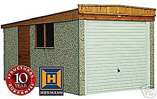 "14Ft 3"" X 8Ft 6""/ Concrete Sectional Garage/garages"