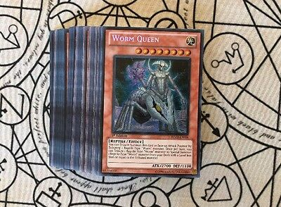 Yugioh 53 Card Worm Deck Includes Super And Secret Rares