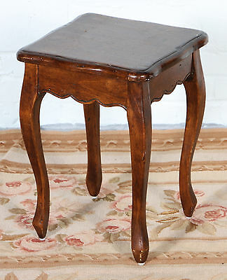 Charming Louis XV Provencial Style Dark Patinated Stand