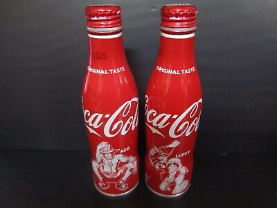 Coca cola japan One piece ACE&LUFFY Limited Design empty can JAPAN