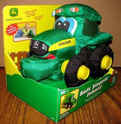 John Deere Kids STEPPIN' JOHNNY TRACTOR 2003 Ertl Toy 34826  Retired Collectible