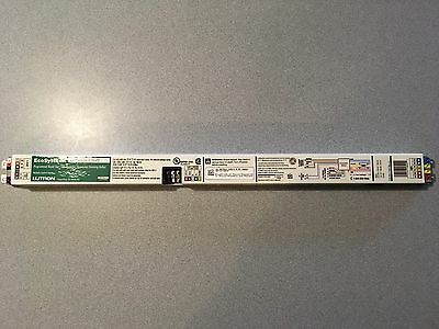 NEW Lutron EC5T528JUNV2 10% Dimming Ballast, Two Bulb, EcoSystem, Fluorescent