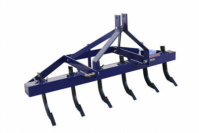 4Ft 1200Mm Multi Tyne Ripper For Tractor, 3 Point Linkage