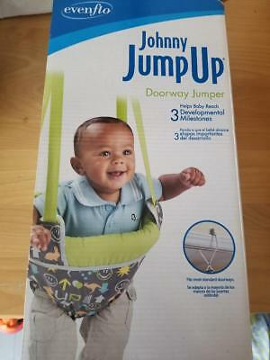Evenflo Johnny Jump Up Baby Doorway Jumping Exerciser NIB Neutral Gender