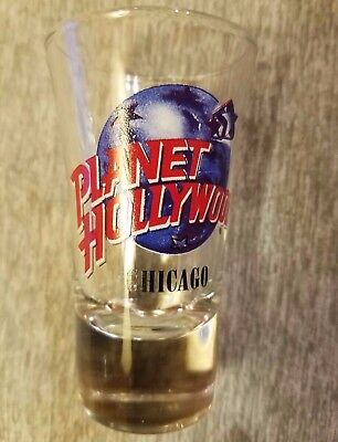 Planet Hollywood Chicago Illinois: Shot - Shooter Glass NEW UNUSED