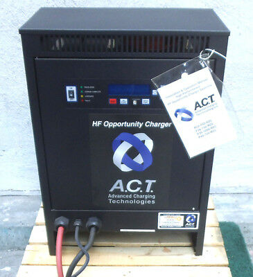New Act 36 Volt 188 Amps 480Vac Forklift 3 Phase Battery Charger P-36-750-R25