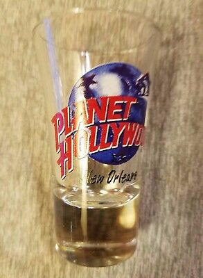 Planet Hollywood New Orleans Louisiana: Shot - Shooter Glass NEW UNUSED