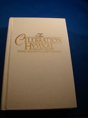 The Celebration Hymnal Copyright 1997 Hardback Songbook NICE White Cover