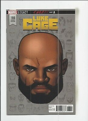 Luke Cage #166 Mike McKone 1:10 Headshot Variant Cover (NM-) condition