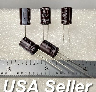 10pcs GENUINE PANASONIC FR 100uF 50V 105C LOW ESR HI END CAPS same as FM 854441!