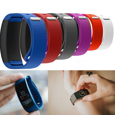 Silicone Luxury Replacement Watch Band Strap For Samsung Gear Fit 2 SM-R360 2017