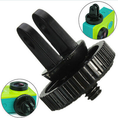"Mini 1/4"" Monopod Tripod Mount Adapter with Screw Thread For GoPro Hero 1 2 3*"