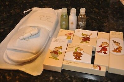 Disneyland Hotel Hong Kong Seven Dwarfs Soaps, Toothbrushes, Combs And More