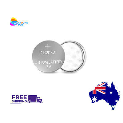 1-100 CR2032 3V Lithium Button Cell Coin Batteries 5004LC 2032 ECR2032 Melbourne