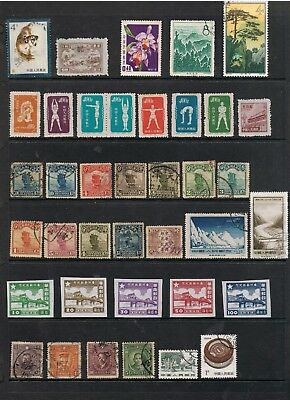Selection Of Earlier Stamps From China.