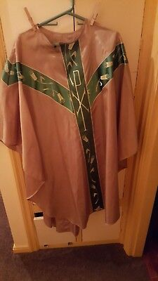 Gaspar Gold and green Chasuble - unusual