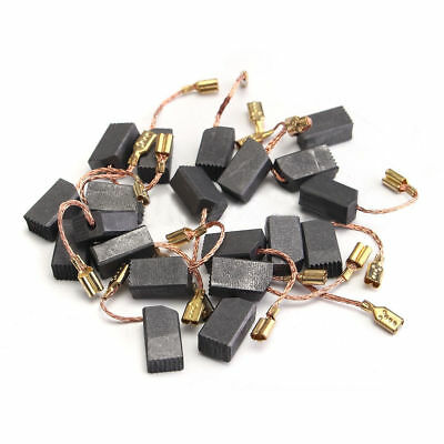 20xPower Tool 6mm*8mm*14mm Motor Carbon Brushes For Electric Drill Angle Grinder