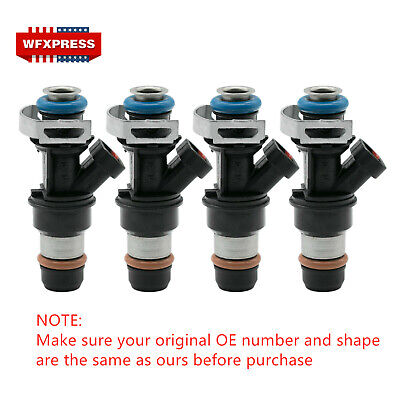 4x New OEM Fuel Injector For Delphi 2000-2003 Chevy S10 GMC Sonoma 2.2L 25325012