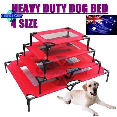 Heavy Duty Pet Dog Bed Trampoline Hammock Canvas Cat Puppy Foldable Frame Cover
