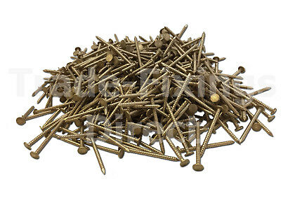 28 X 1.80 Silicon Bronze Cedar Shingle Nails Boat Nails 1Kg Bag
