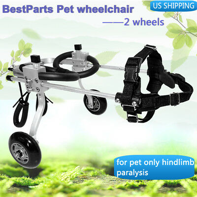 """BestParts Cart Pet/Dog Wheelchair for Handicapped  small DogCat 5.9""""-12.2"""""""