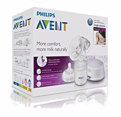 Phillips AVENT Single Electric Breast Pump Breast Feeding  - Warehouse Clearance