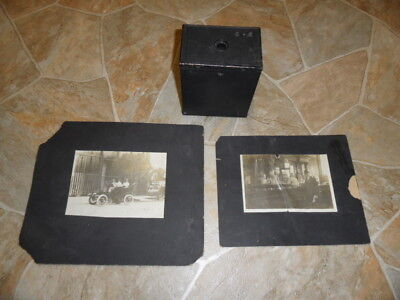 Vintage Antique 1916 Eastman Kodak Brownie Box Camera No. 2A Model 116