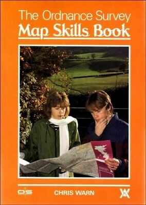 The Ordnance Survey Map Skills Book, Warn, Chris, Used; Good Book