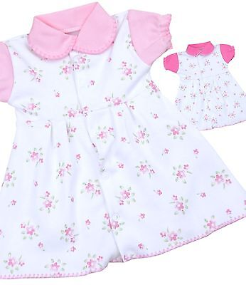 BABYPREM Baby Dresses Girls Pink Vintage Flower Dress Frock NEWBORN Clothes