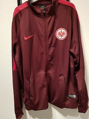 Nike EINTRACHT FRANKFURT Kids FOOTBALL TRACK SUIT red 810782 681