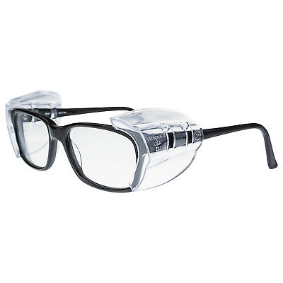 Radians Universal Flex Safety Glasses Side Shields Clear UV Protection 99705